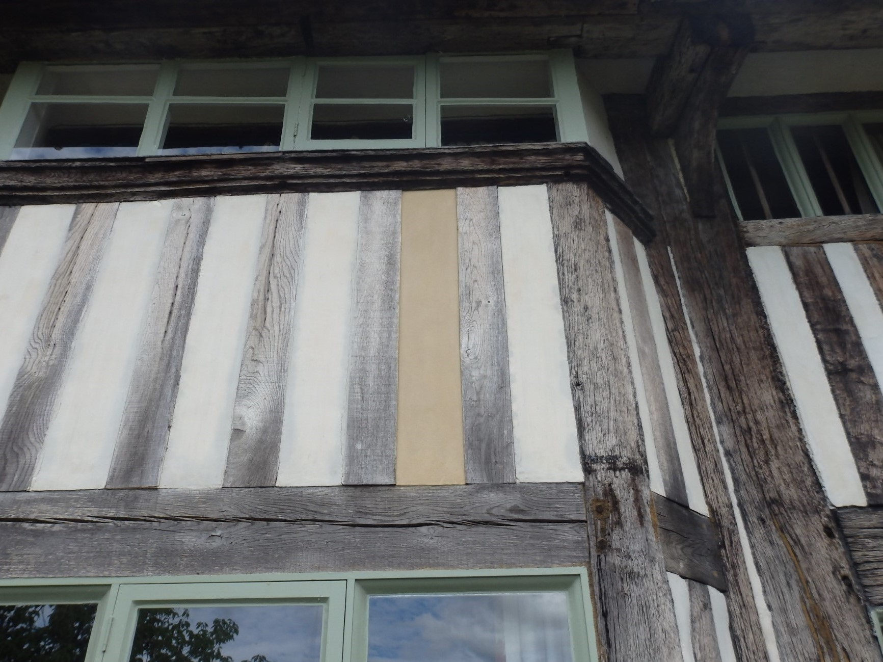 A 1490 Wealden Hall House,