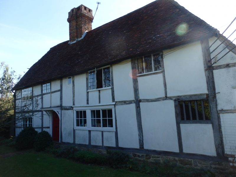 Blackfriers, Grade II listed, timber framed building in Kent. Dating 1650 approx