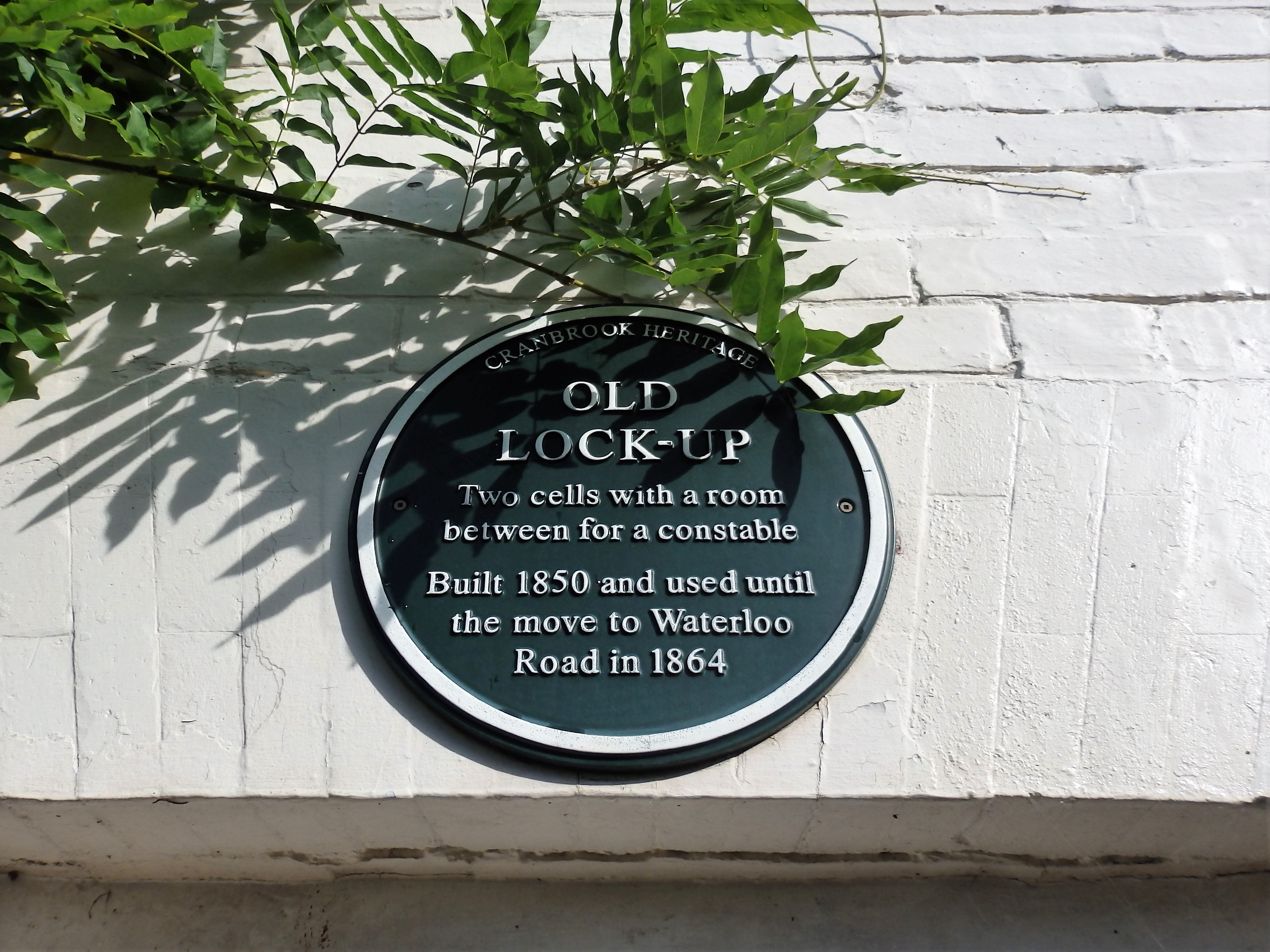 The Old Lock Up. Cranbrook, Kent